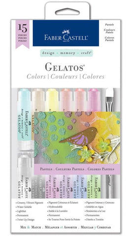 Faber-Castell - Mix & Match Gelatos Kit - Pastels
