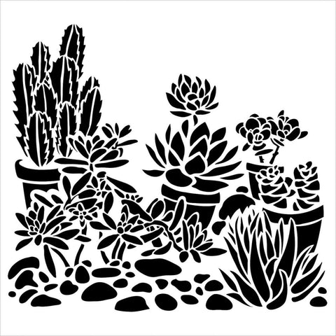 "The Crafter's Workshop 6"" x 6""  - Desert Garden"