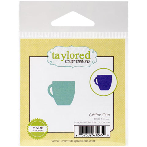 Taylored Expressions Little Bits Die - Coffee Cup