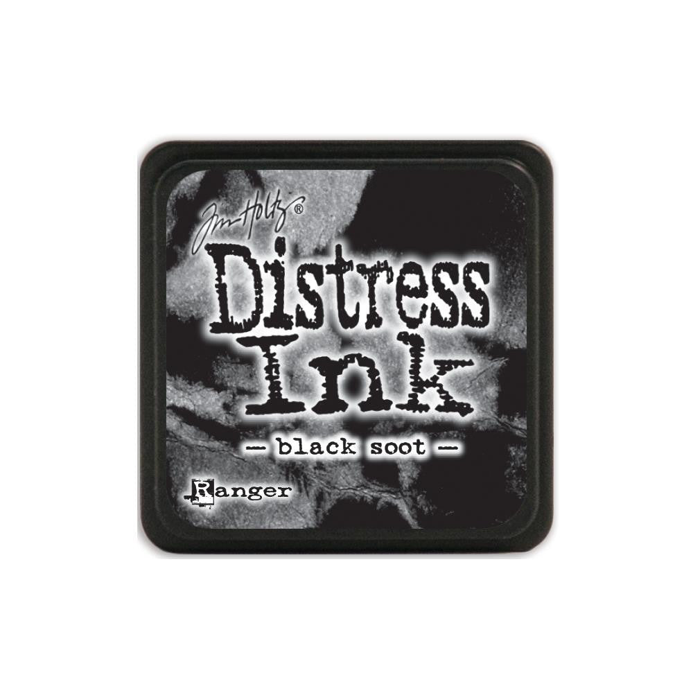 Ranger Tim Holtz Distress Mini Ink Pad BLACK SOOT