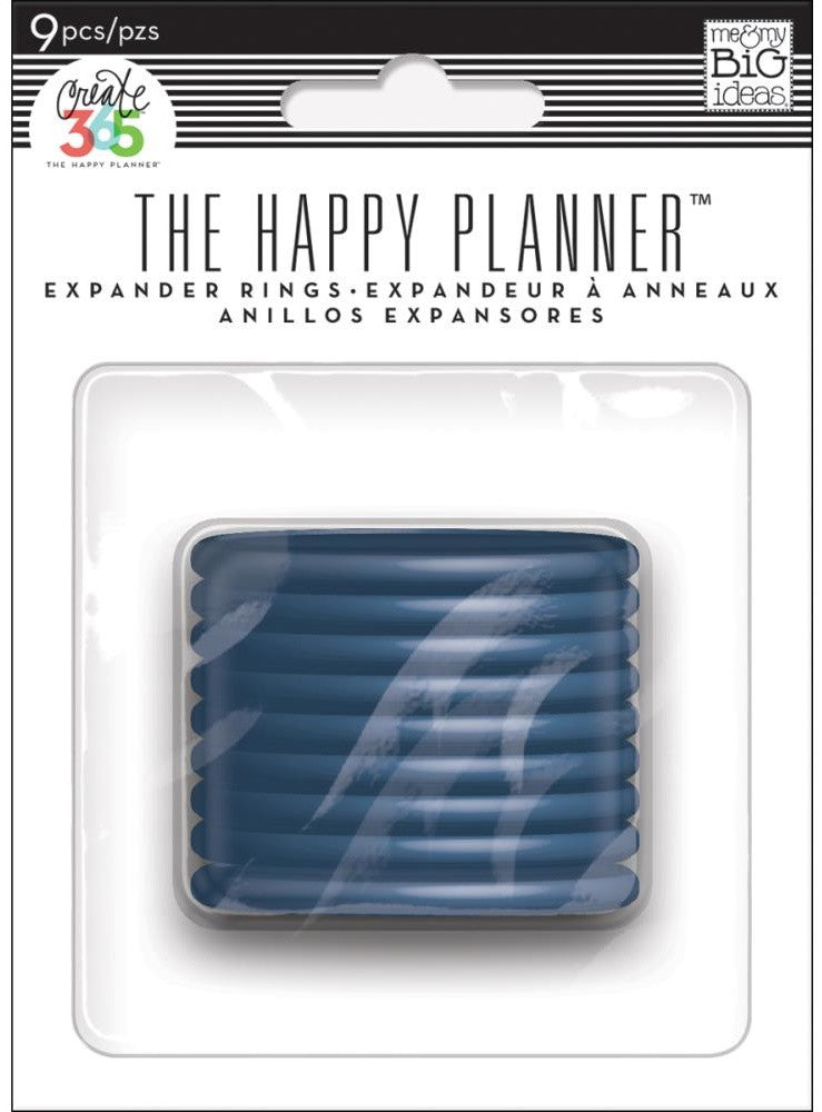 Me & My Big Ideas - Create 365 The Happy Planner Expander Rings - Blue  1.75""