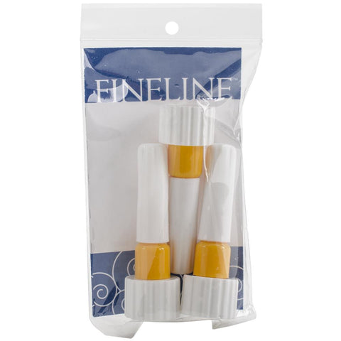 "Fineline Applicators 20 Gauge .5"" Dispensing Tip 3/Pkg - 18/410 Cap"