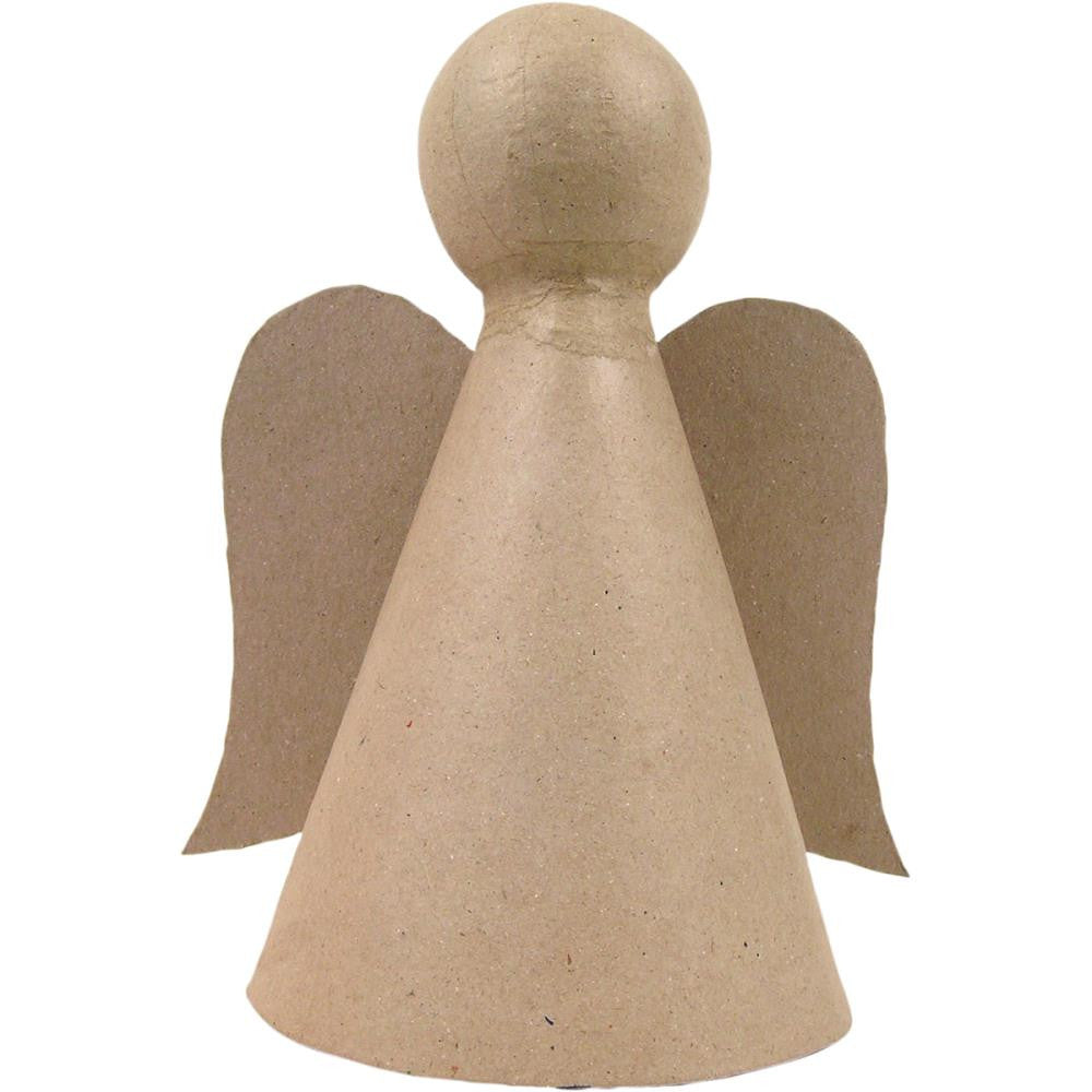 "DecoPatch Paper Mache Figurine 8"" - Angel"