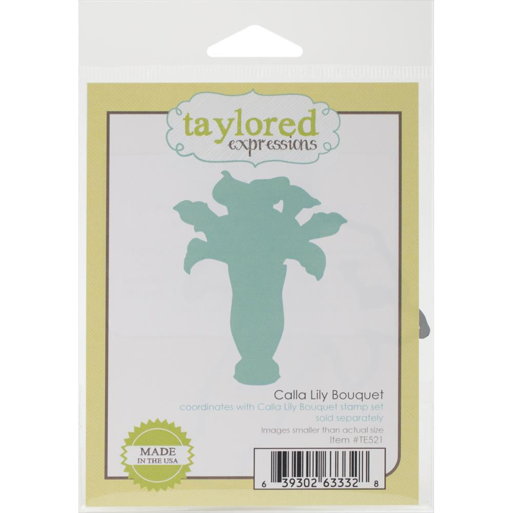 Taylored Expressions Die - Calla Lily (Coordinates with Calla Lily Stamp Set)