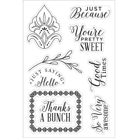 "Hero Arts - Clear Stamp - 4"" x 6"" - You're Pretty Sweet"
