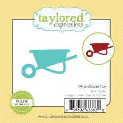 Taylored Expressions Little Bits Die - Wheelbarrow