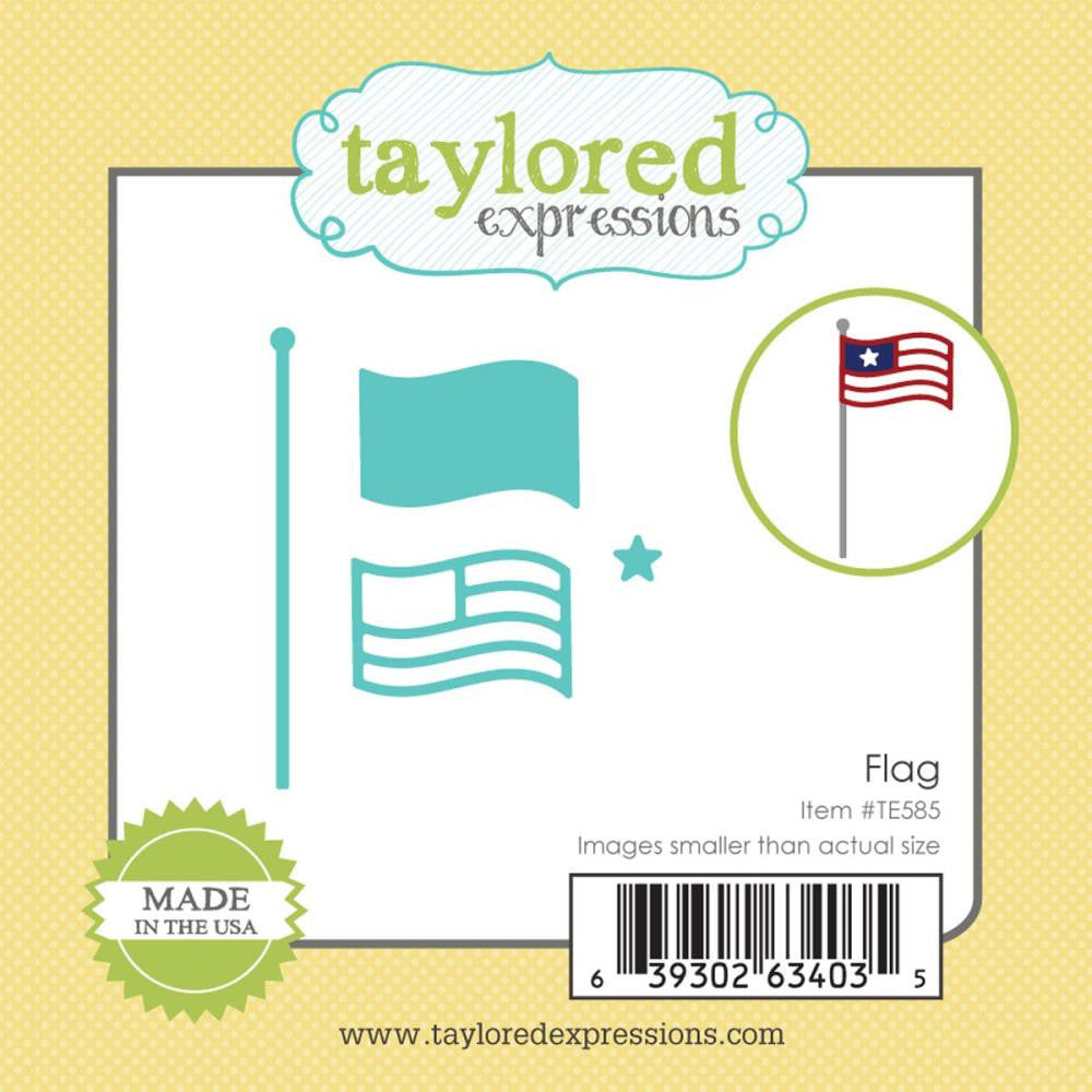 Taylored Expressions Little Bits Die - Flag