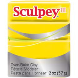 ***New Item*** Sculpey III Polymer Clay 2oz - Yellow
