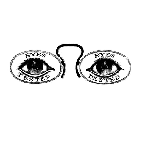 "Joggles Cling Stamp 4.25"" x 2.5"" - Eye Test"