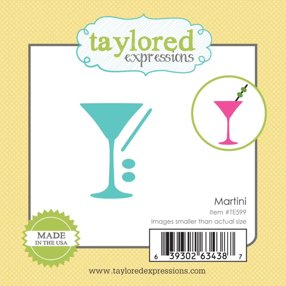 Taylored Expressions Little Bits Die - Martini