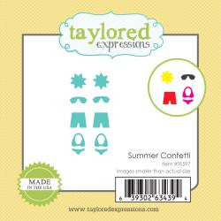 Taylored Expressions Little Bits Die - Summer Confetti