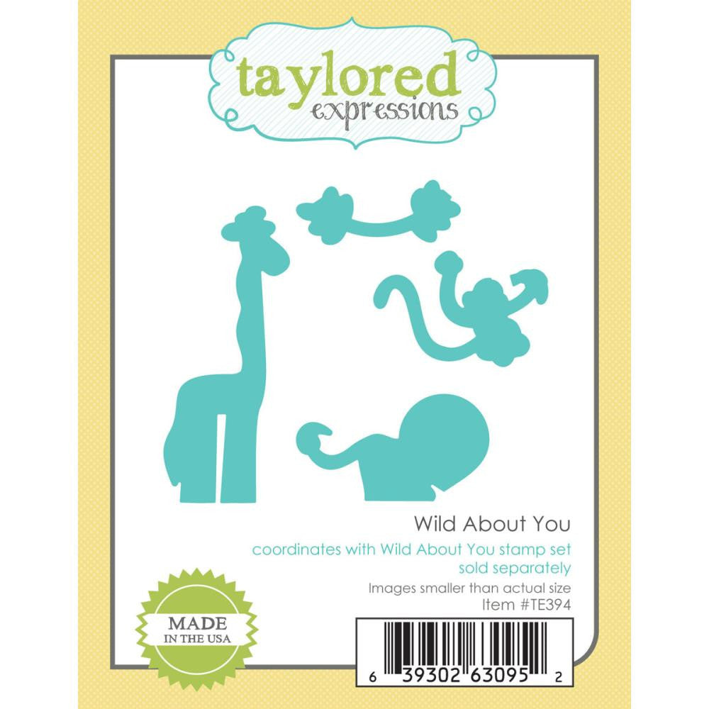 Taylored Expressions Die - Wild About You (Coordinates with Wild About You Stamp Set - coming soon)