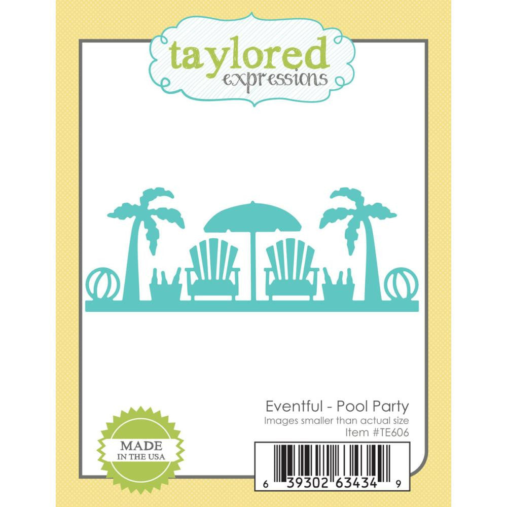 Taylored Expressions Die - Pool Party
