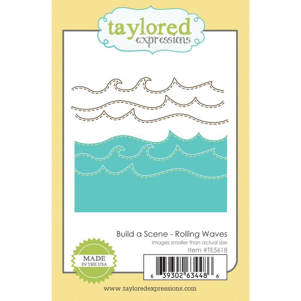 Taylored Expressions Die - Build a Scene - Rolling Waves