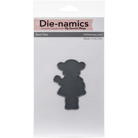 "Die-Namics Dies - Heartstrings  2""X3.125"" (coordinates with ""Heartstrings"" stamp set)"