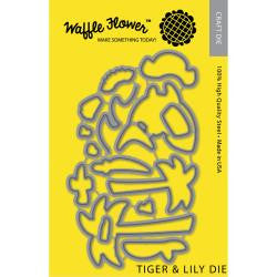 Waffle Flower - Tiger & Lily Die Set  (Coordinates with Tiger & Lily Stamp Set)