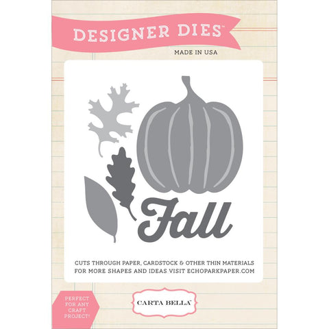 Carta Bella Echo Park Die -  Fall Harvest