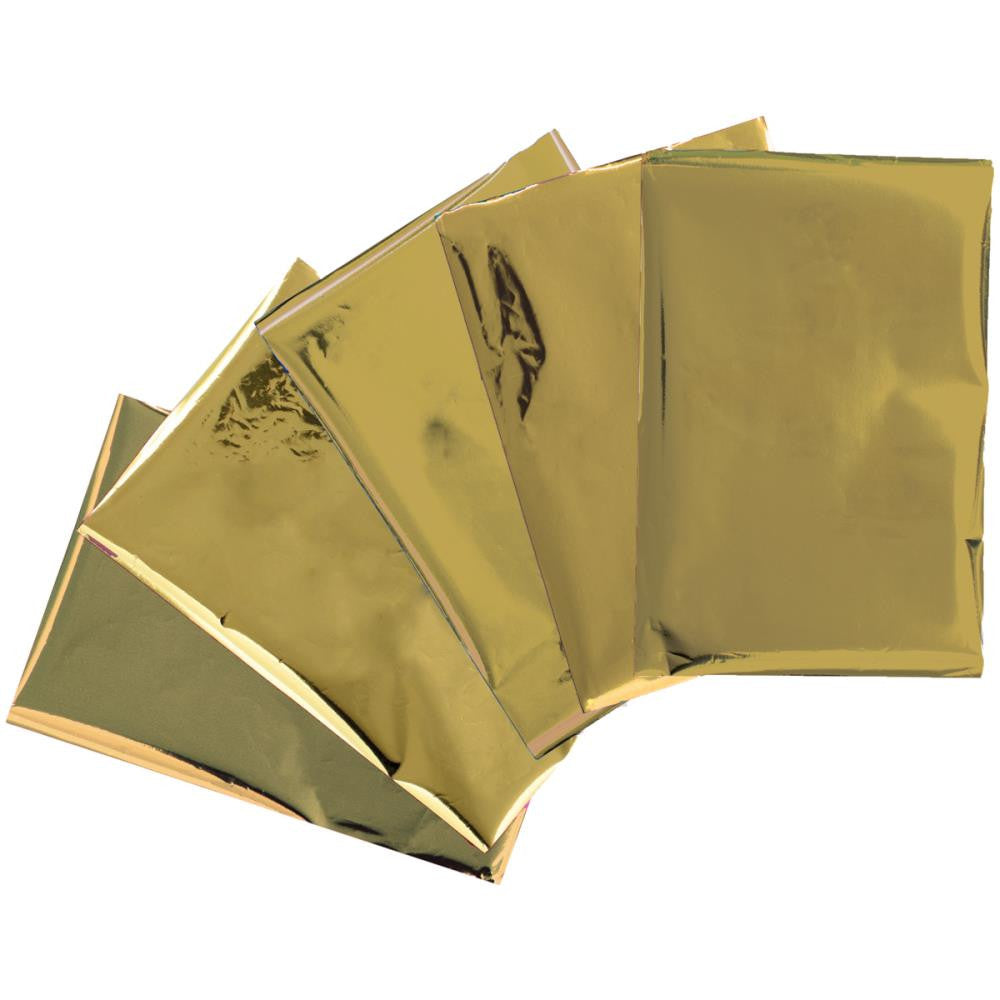 "We R Memory Keepers Heatwave Foil Sheets 4"" x 6"" - Gold"