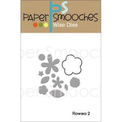 Paper Smooches Die - Flowers 2 Die