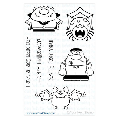 "Your Next Stamp Clear Stamp 4"" x 6"" - Fang-Tastic"