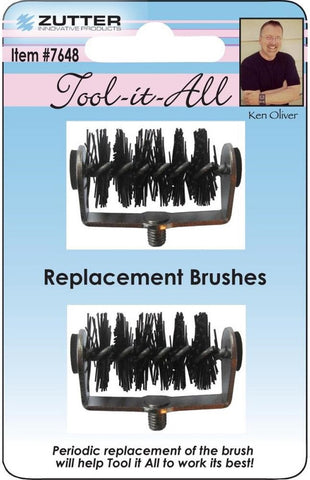Zutter - Tool It All Replacement Brush Tips