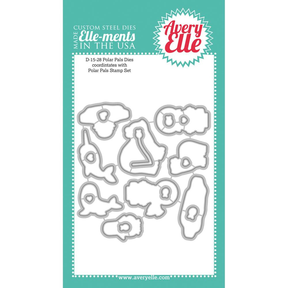 "Avery Elle Ellements Die Set - Polar Pals (Coordinates With ""Polar Pals"" Stamp Set)"