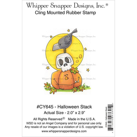 Whipper Snapper Cling Stamp - Halloween Stack