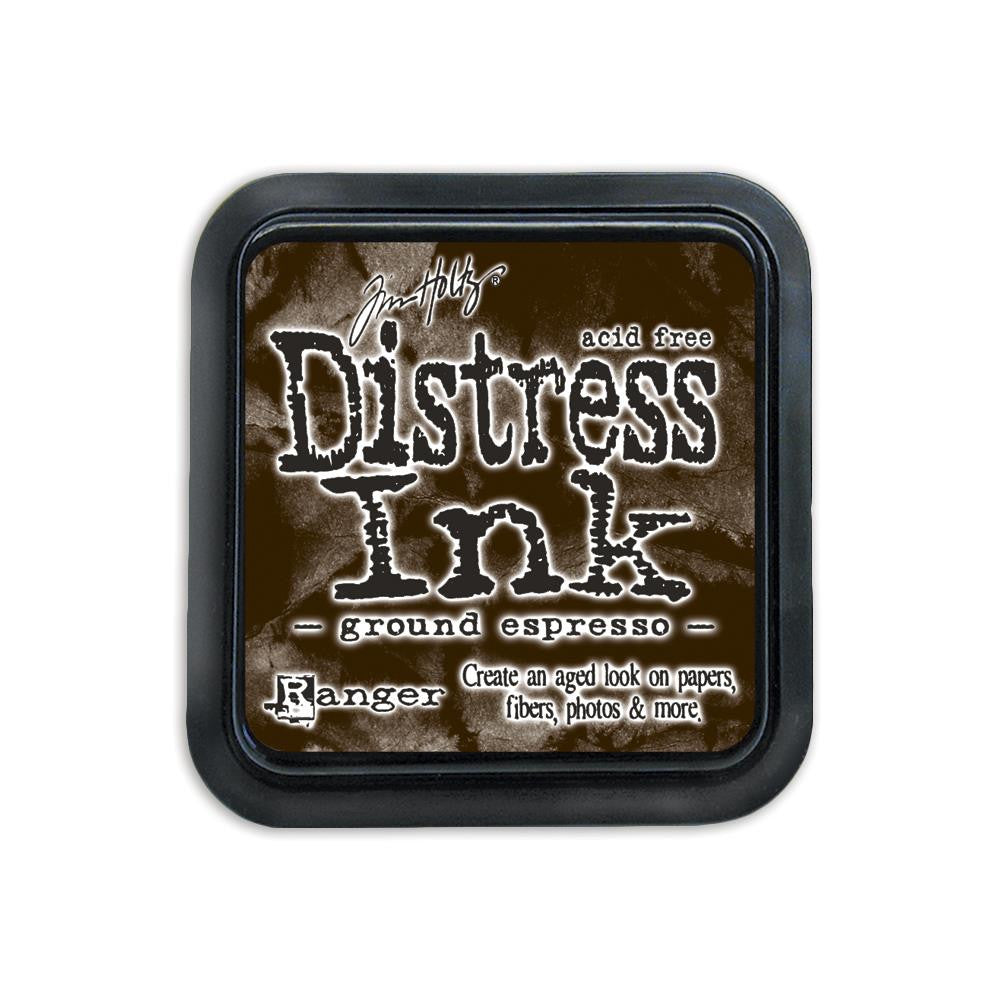 Tim Holtz - Distress Ink Pad by Ranger - Ground Espresso