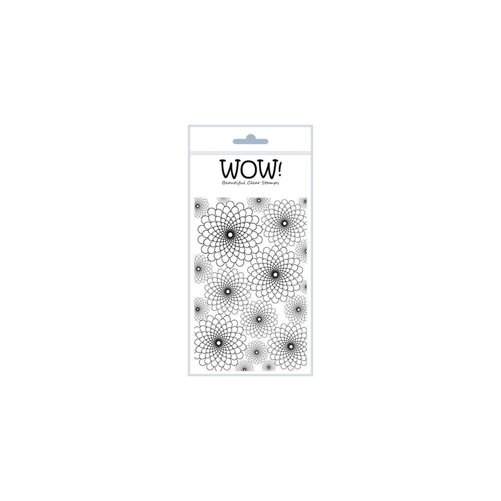 "WOW! Clear Stamp Set 4""X5.75"" - Chrysanthemum"