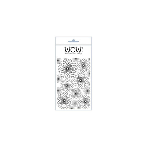 "***New Item*** WOW! Clear Stamp Set 4""X5.75"" - Chrysanthemum"
