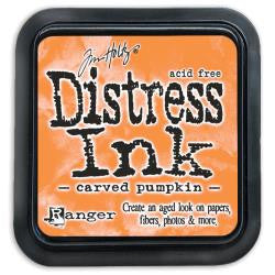 Ranger Tim Holtz Distress Ink Pad - October Color of the Month - Carved Pumpkin