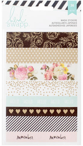 "***Pre-Order*** Heidi Swapp - Memory Planner Washi Stickers 4"" x 6"""