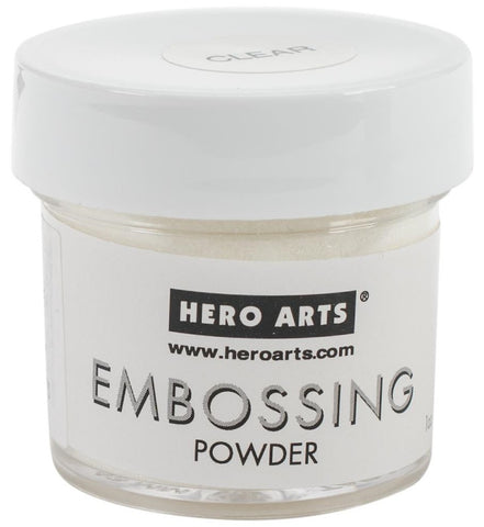 ***New Item*** Hero Arts - Embossing Powder 1oz - Clear