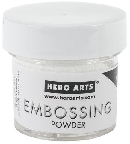 ***New Item*** Hero Arts - Embossing Powder 1oz - White