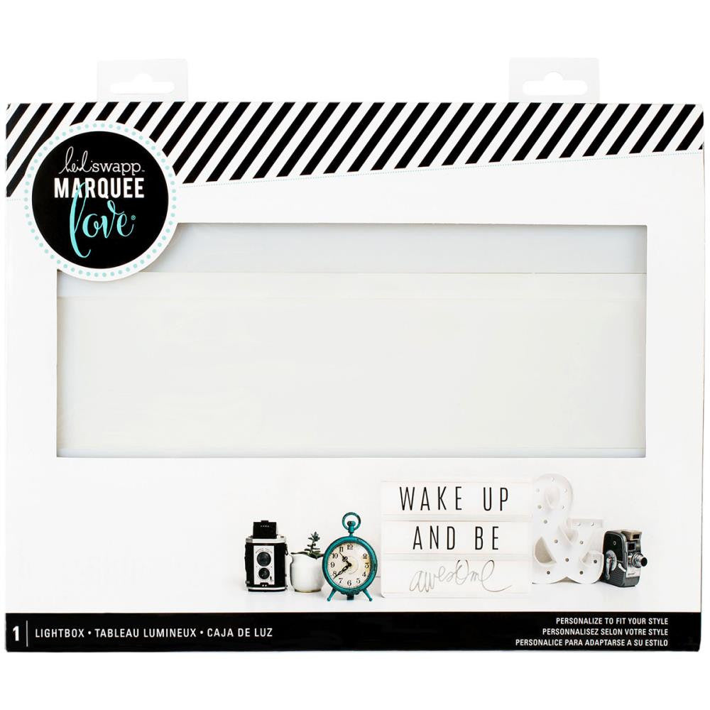 Heidi Swapp - Battery Operated Lightbox - White