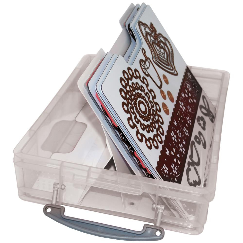 "Zutter Handy Cling & Clear Stamp Storage System - 8"" x 6"" x 2.5"""