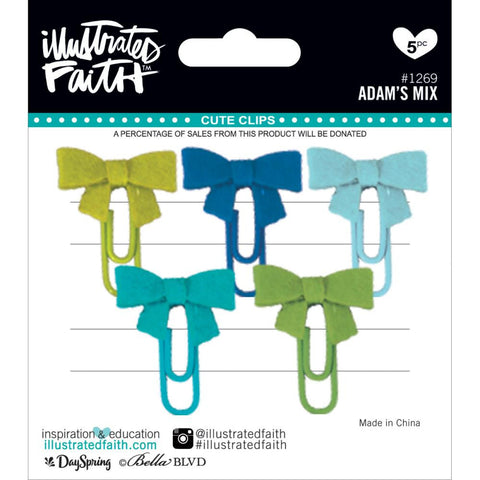 ***New Item*** Illustrated Faith, Basics Cute Clips - Adam