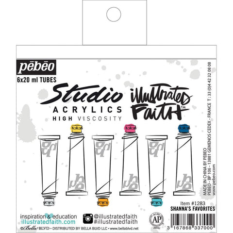 ***New Item*** Illustrated Faith, Basics Paint Set - Shanna's Favorites