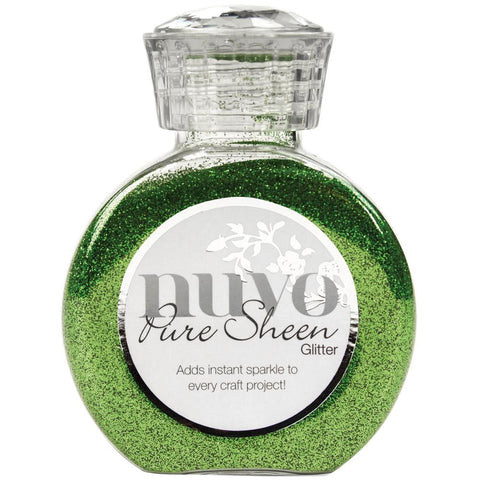(Pre Order) Tonic Studios - Nuvo Pure Sheen Glitter - Green Meadow