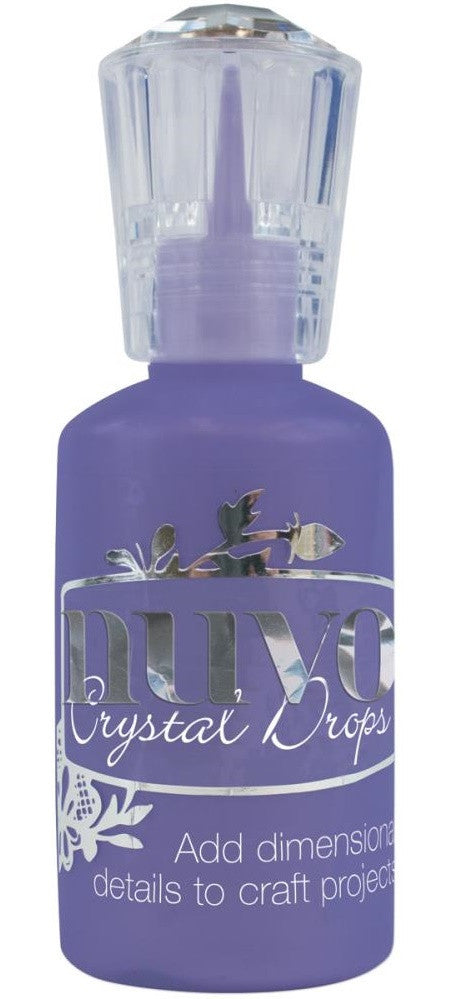 Nuvo - Tonic Studios - Crystal Drops - Gloss Crushed Grapes