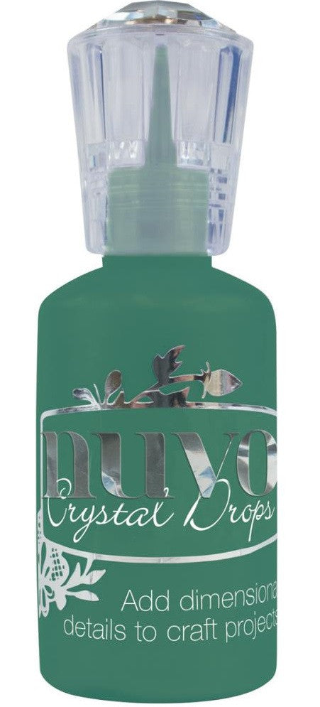 Nuvo - Tonic Studios - Crystal Drops - Gloss Woodland Green