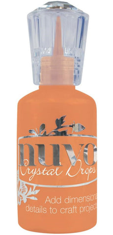 Nuvo - Tonic Studios - Crystal Drops - Gloss Ripened Pumpkin
