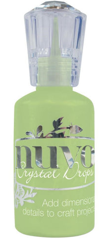 Nuvo - Tonic Studios - Crystal Drops - Gloss Apple Green