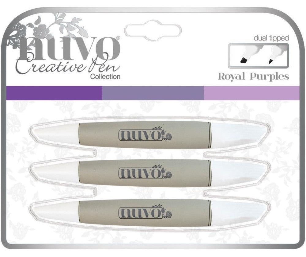 Nuvo - Creative Pen Collection - Royal Purples (Available: Mar. 22, 2017)