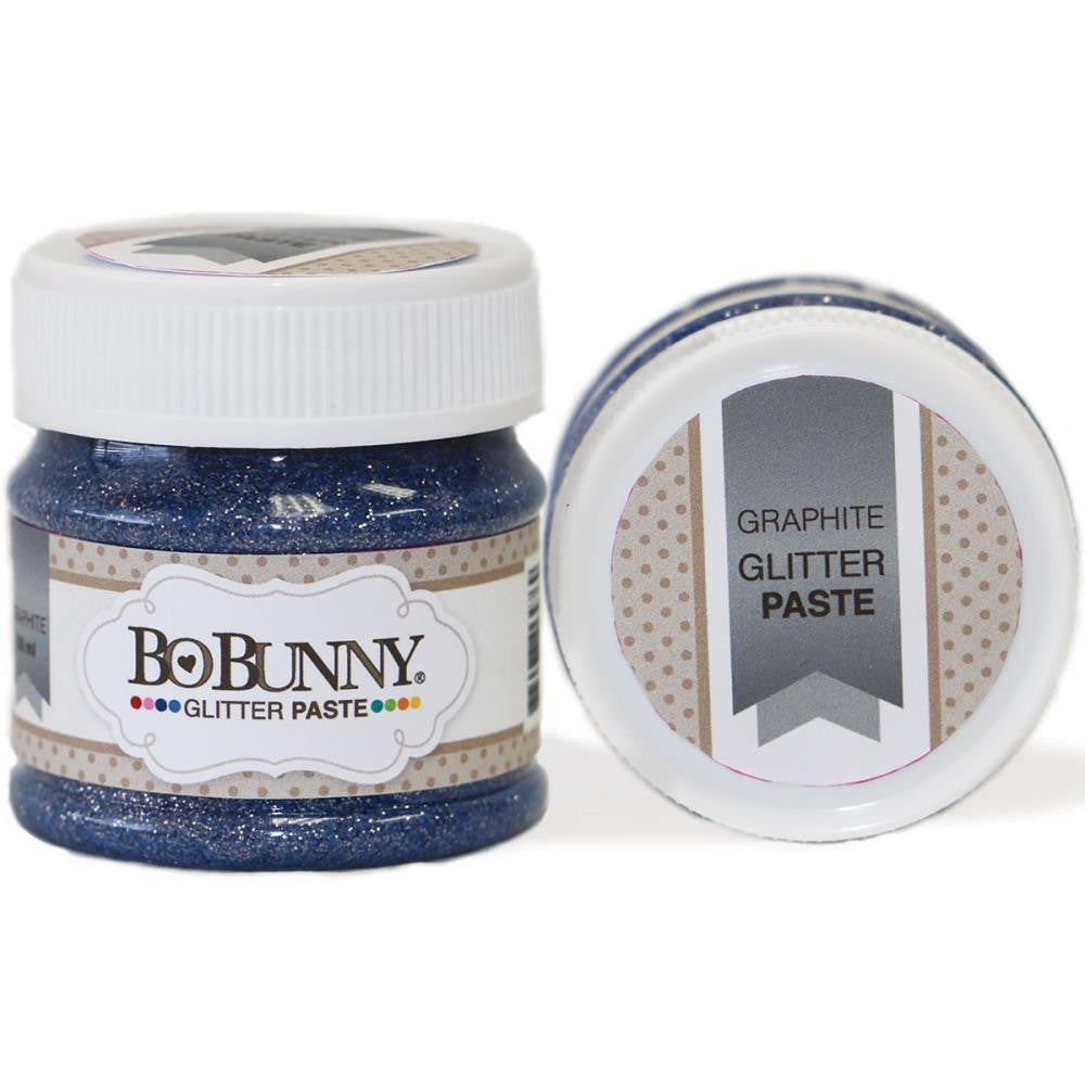 BoBunny Double Dot Glitter Paste - Graphite
