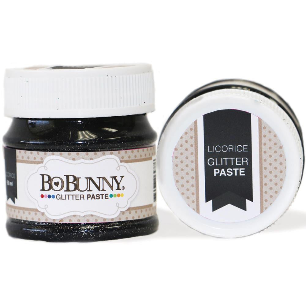 BoBunny Double Dot Glitter Paste - Licorice