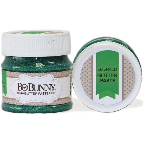 BoBunny Double Dot Glitter Paste - Emerald
