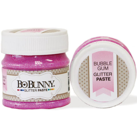 BoBunny Double Dot Glitter Paste - Bubble Gum