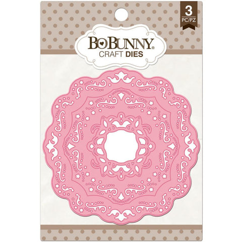 ***New Item*** BoBunny Dies 3/Pkg - Ornate Doilies