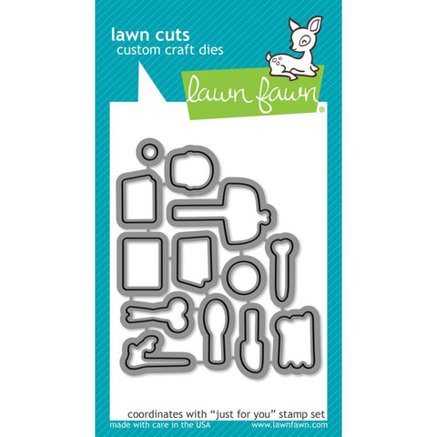 Lawn Cuts Custom Craft Die - Just For You (Coordinates with Just For You stamp set)